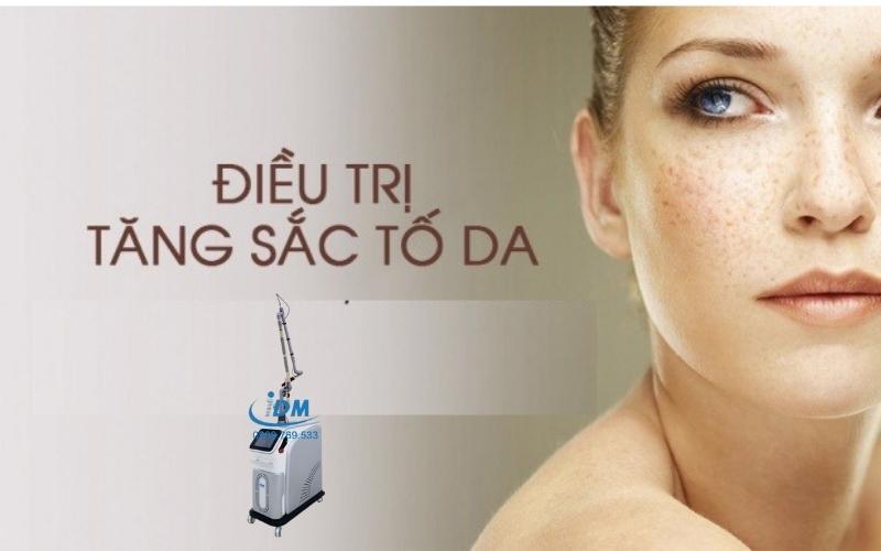 Khám phá dòng máy điều trị sắc tố da đang được các spa săn lùng