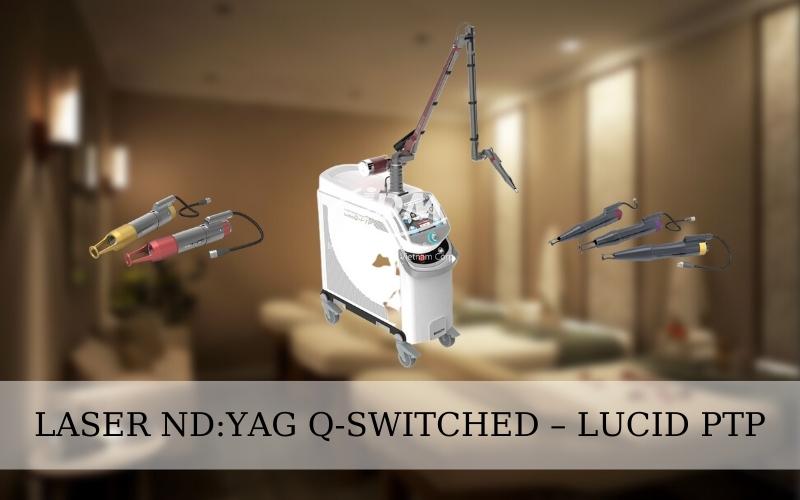 Xóa xăm bằng YAG Q-SWITCHED – LUCID PTP không đau không để lại sẹo
