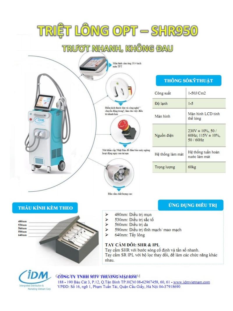IDM là một trong những địa chỉ chuyên phân phối thiết bị thẩm mỹ hàng đầu tại thị trường Việt Nam