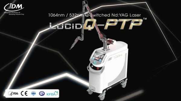 Lucid Q-PTP sử dụng công nghệ laser yag giúp điều trị sắc tố hiệu quả.