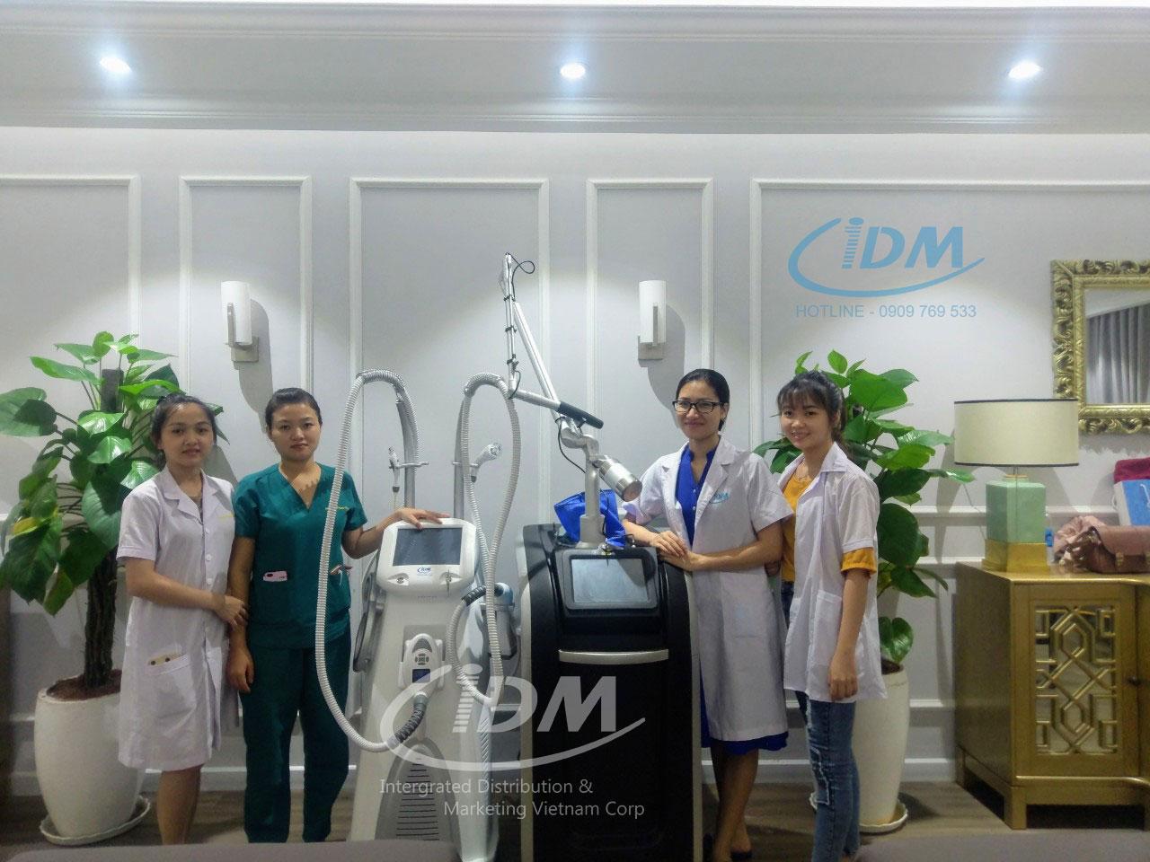 IDM là nhà cung cấp các loại máy giảm béo chất lượng và uy tín tại Việt Nam.